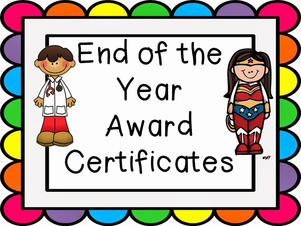 End Of Year Certificate New Lovely Literacy & More End Of the Year Award Certificates