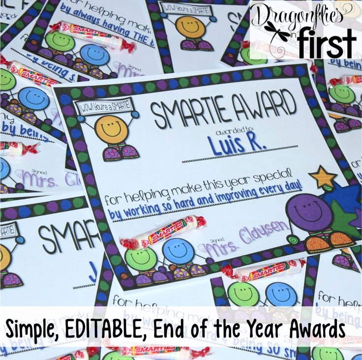 End Of Year Certificates Awesome 15 Best Images About Awards On Pinterest