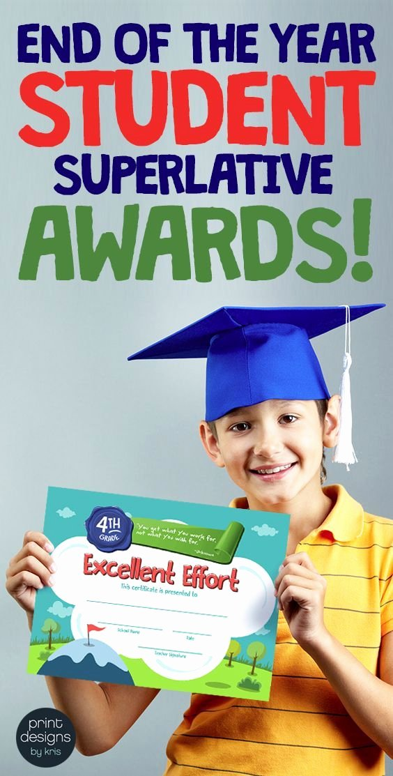 End Of Year Certificates for Students Templates Beautiful Best 25 Award Certificates Ideas On Pinterest