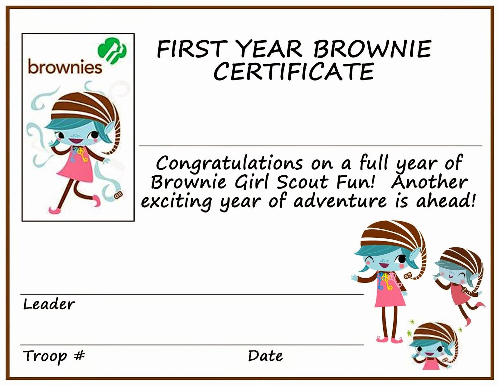 End Of Year Certificates Fresh A Mindful Momma Girl Scouting Momma
