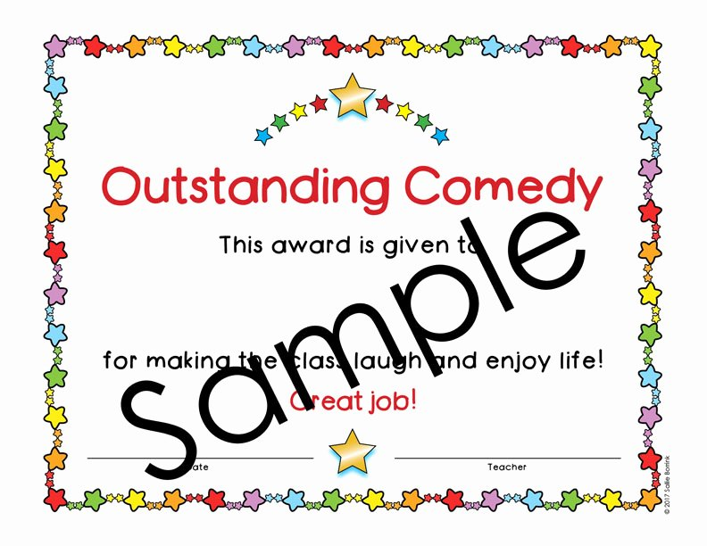 End Of Year Certificates Inspirational 60 Editable End Of Year Awards Color A Quiet Simple