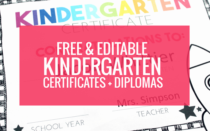 End Of Year Certificates Lovely Free End Of Year Certificates and Kindergarten Graduation