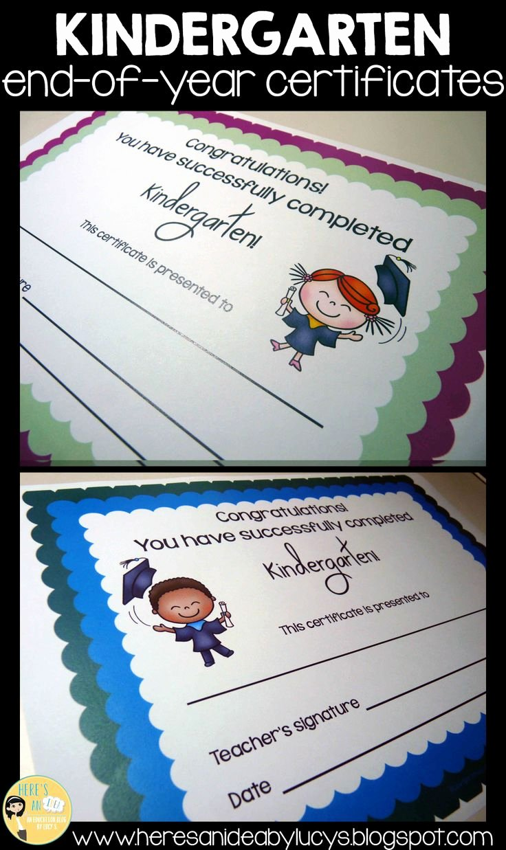 End Of Year Certificates New 90 Best End Of the Year Awards Images On Pinterest