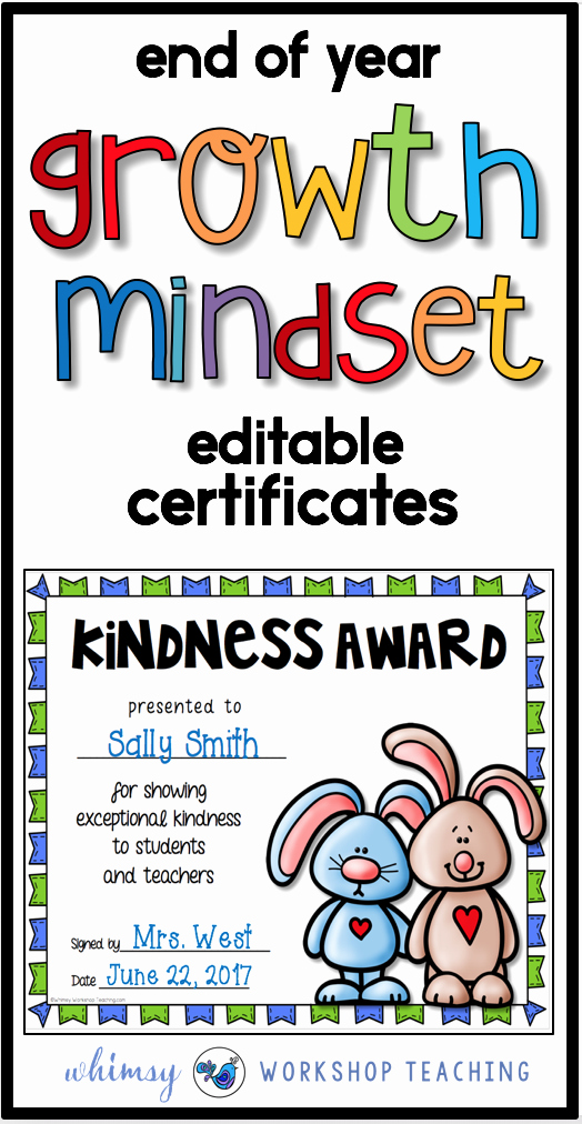 End Of Year Certificates Unique Simple End Year Ideas