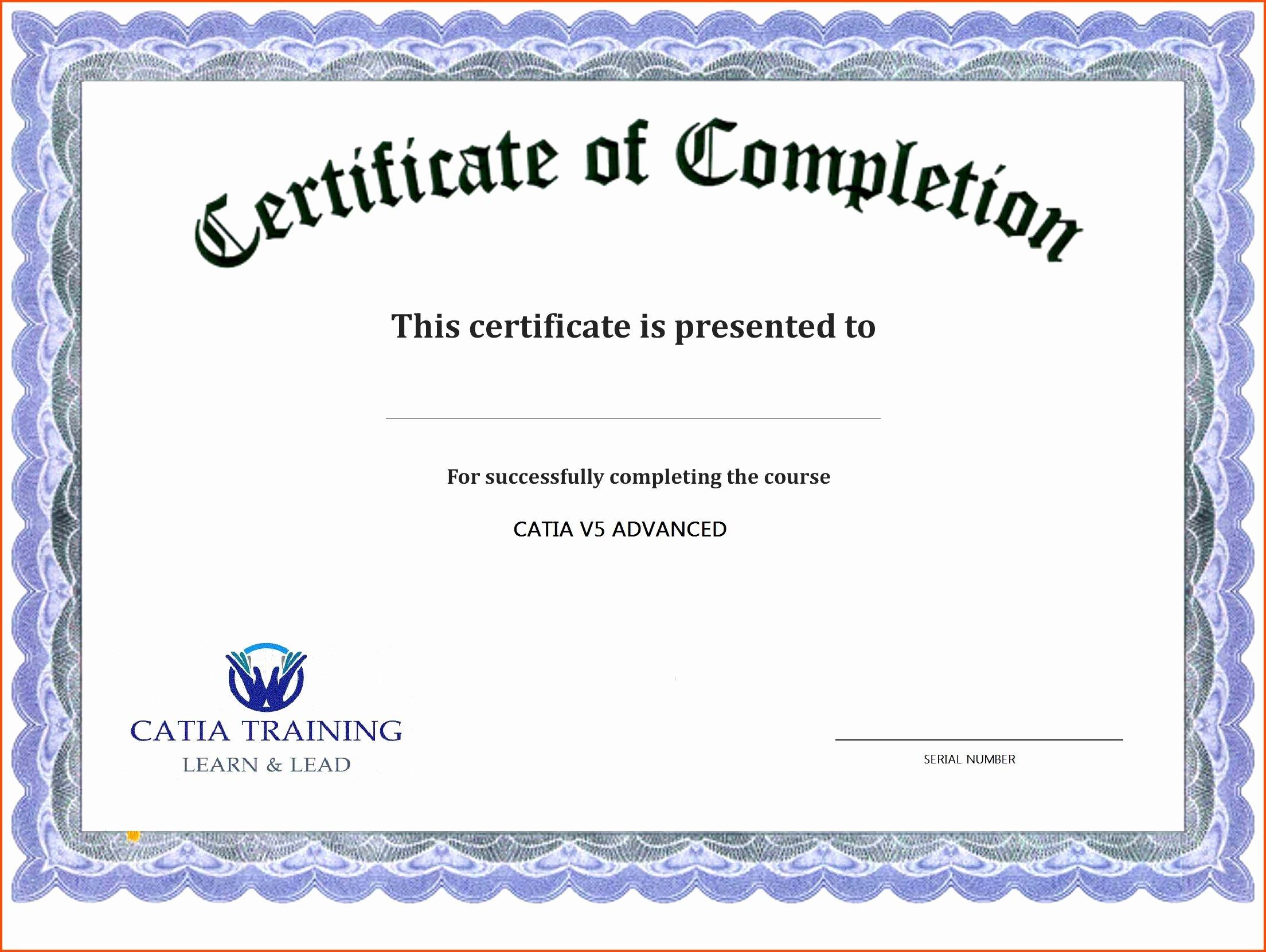 End Use Certificate Template Elegant Award Template Editable