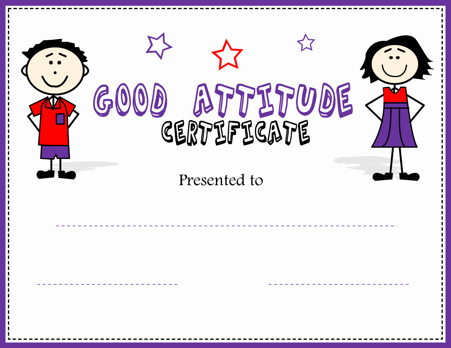 End Use Certificate Template Luxury Perfect attendance Certificate Template Edit Fill Sign