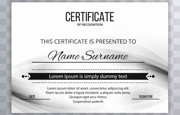 End User Certificate Template Beautiful 50 Multipurpose Certificate Templates and Award Designs