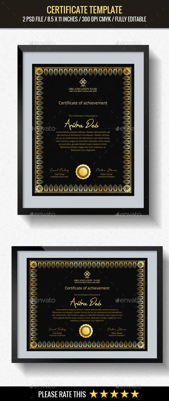 End User Certificate Template Beautiful Pin by Maria Alena On Modern Certificate Design