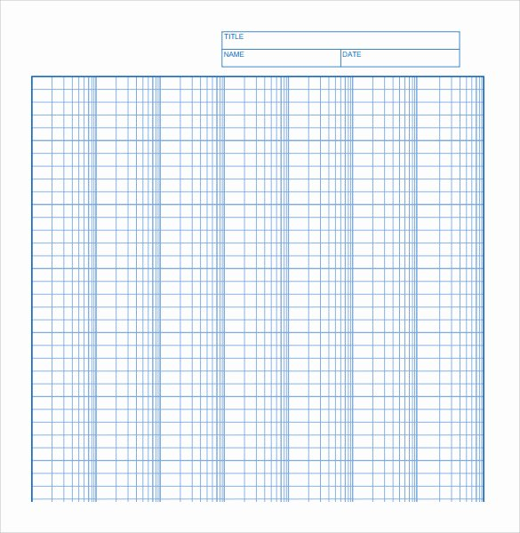 Engineering Paper Pdf Inspirational Sample Log Graph Paper 6 Documents In Pdf Word
