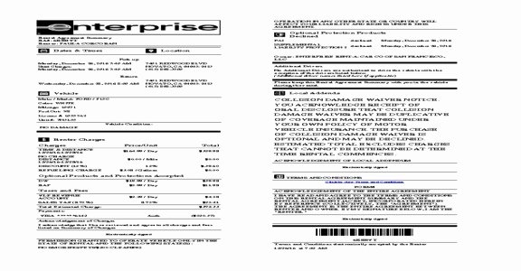 Enterprise Rental Agreement Fresh Enterprise Rental Agreement – Emmamcintyrephotography