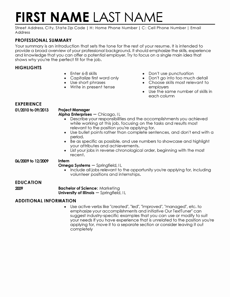 Entry Level It Resume with No Experience Inspirational Entry Level Resume Templates to Impress Any Employer