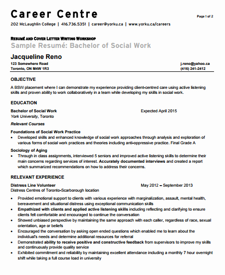 Entry Level It Resume with No Experience Luxury Entry Level social Worker Cover Letter No Experience