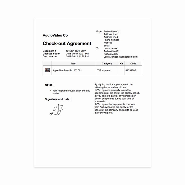 Equipment Checkout Log Best Of Using the Pdf Generator to Your Advantage