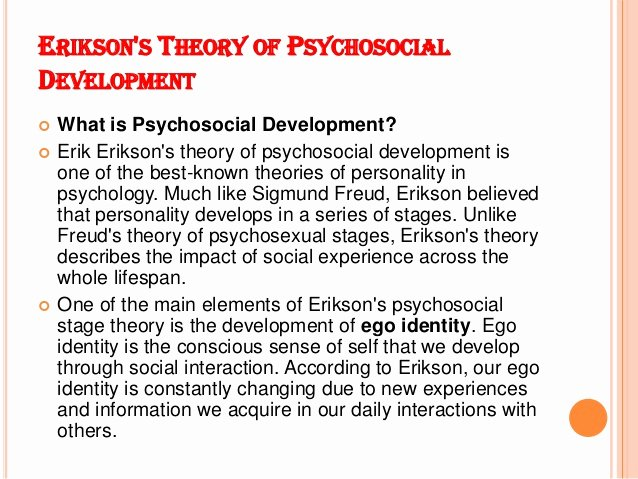 Erikson Stages Of Development Chart Pdf Elegant Personal Narrative Research Paper topics Literature Review