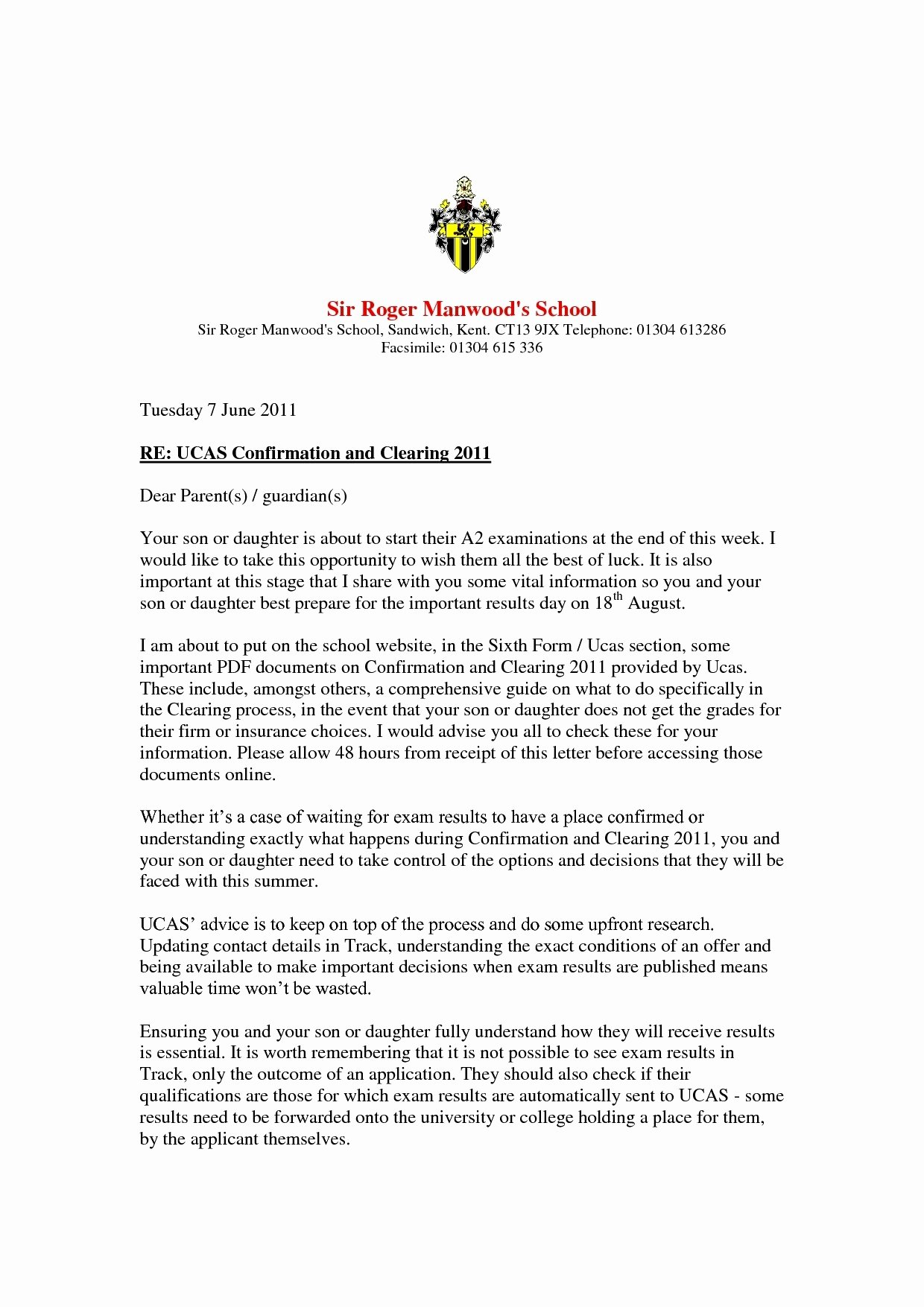 Examples Of Kairos Letters From Parents Lovely 12 13 Confirmation Letters Samples