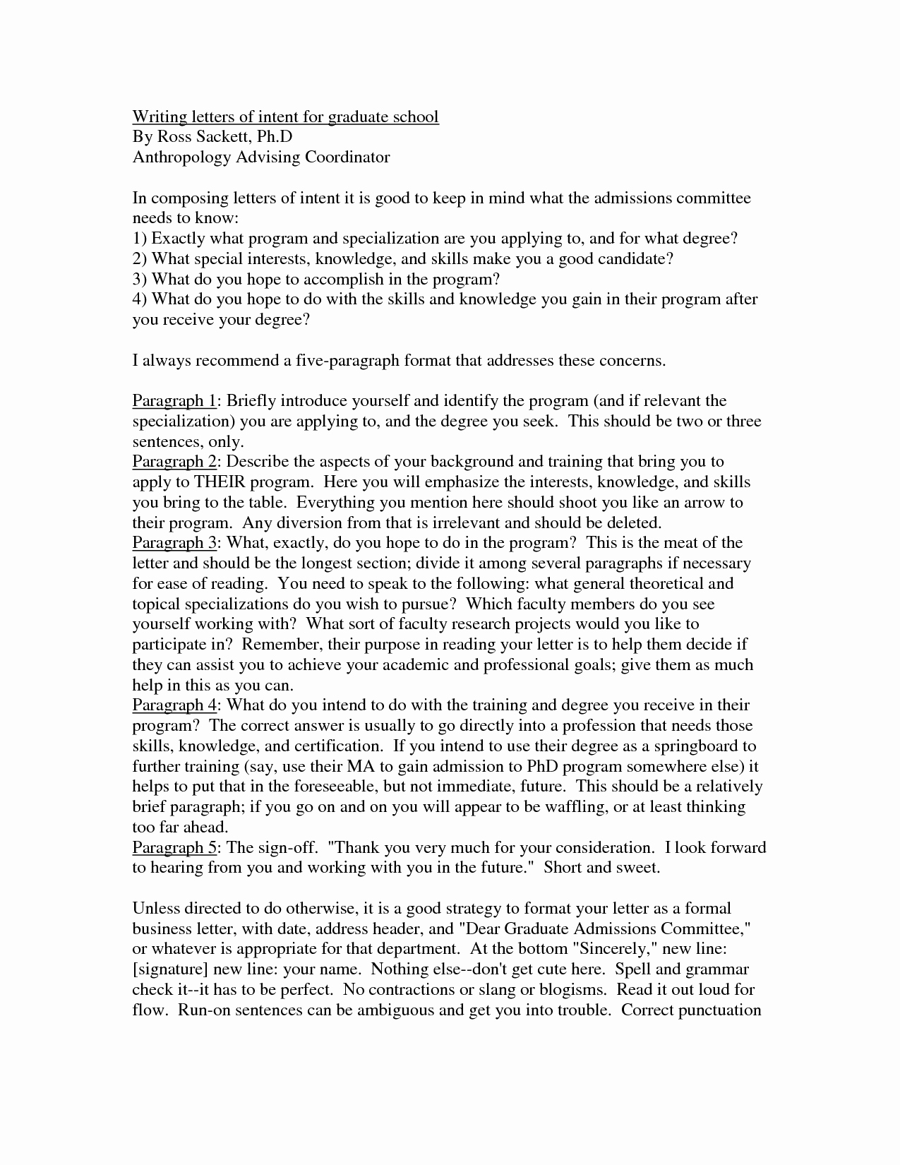 Examples Of Letters Of Intent for Grad School Luxury Best S Of Masters Degree Letter Intent Sample