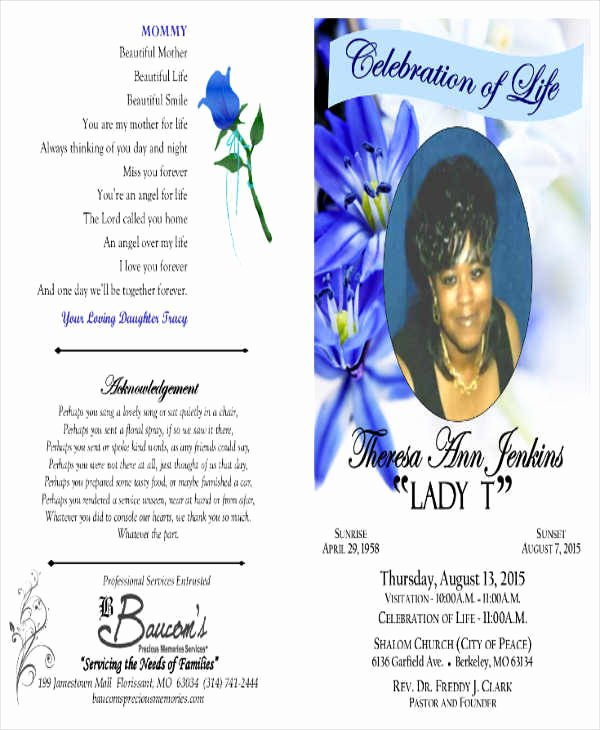 Examples Of Obituaries for A Mother Unique Obituary Template Mother
