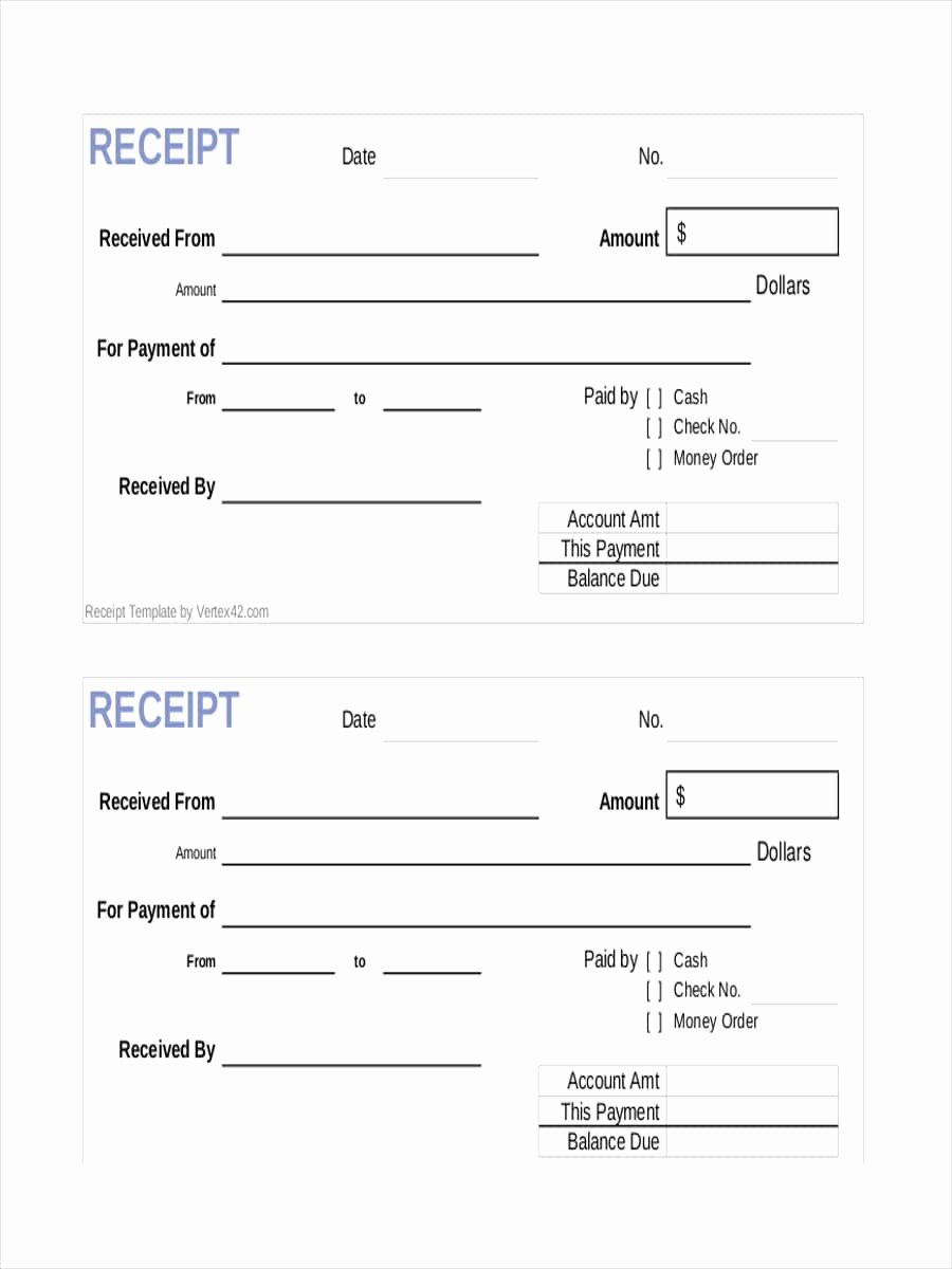 Examples Of Receipts Inspirational Free 10 Payment Receipt Examples & Samples In Google Docs