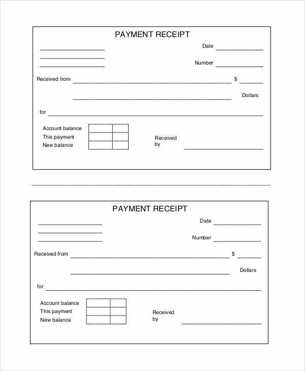Examples Of Receipts Lovely Free Printable Receipt 10 Examples In Word Pdf