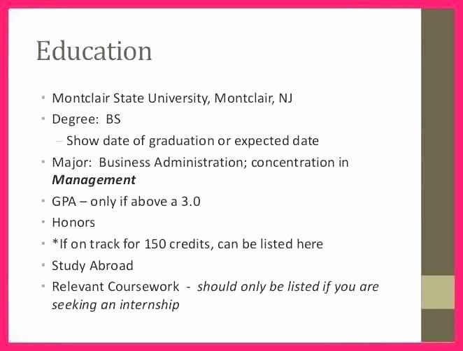 Expected Graduation Date On Resume Luxury Expected Date Of Graduation On Resume – Airexpresscarrier
