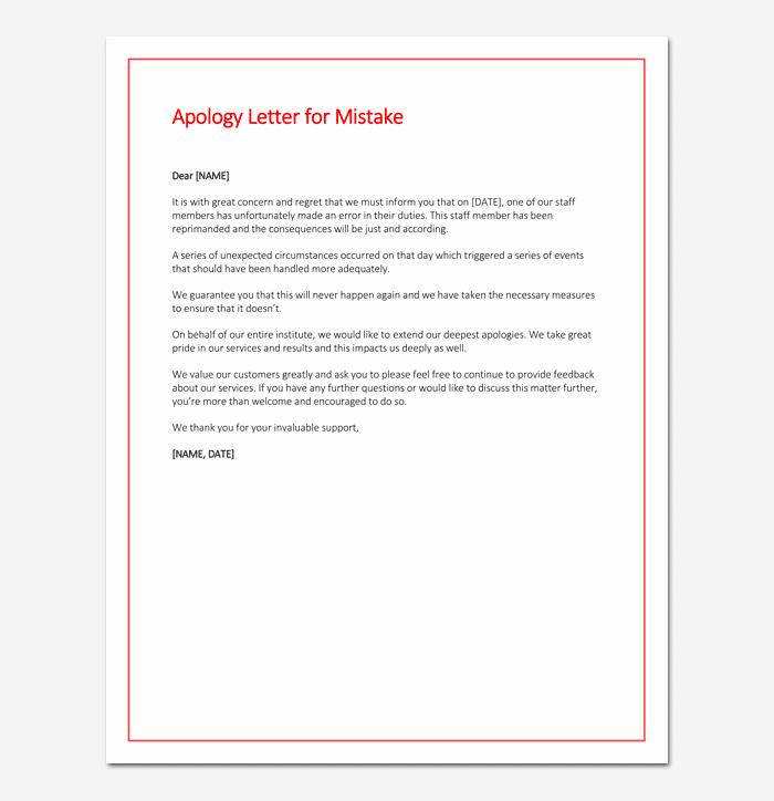 Explanation Letter Sample for Mistake Elegant Explanation Letter for Medication Error as A Nurse