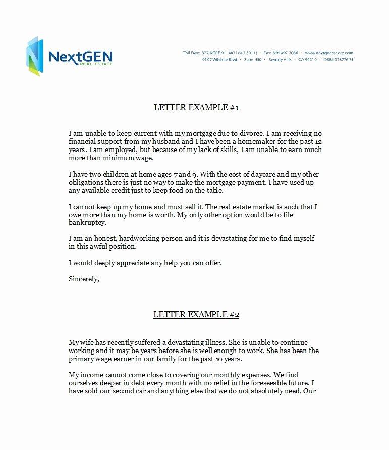 Explanation Letter Sample Fresh 48 Letters Explanation Templates Mortgage Derogatory