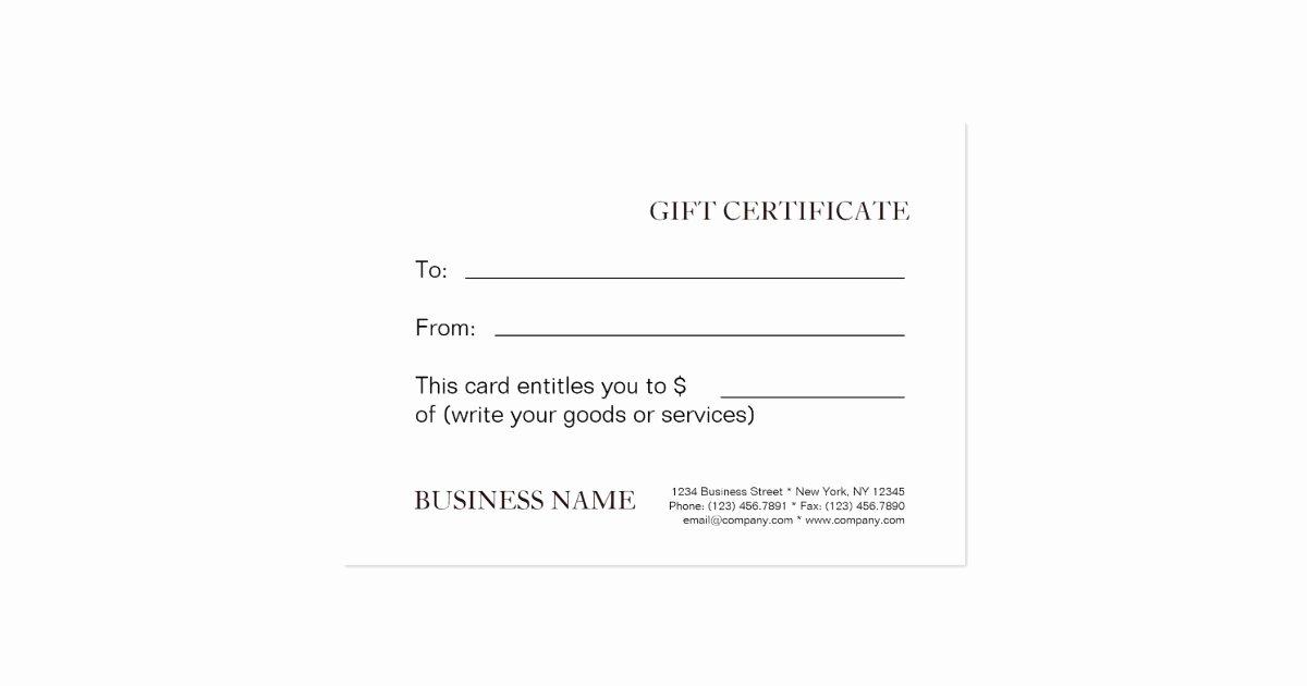 Facial Gift Certificate Template Elegant Massage Gift Certificate Template Spa Gift Cards