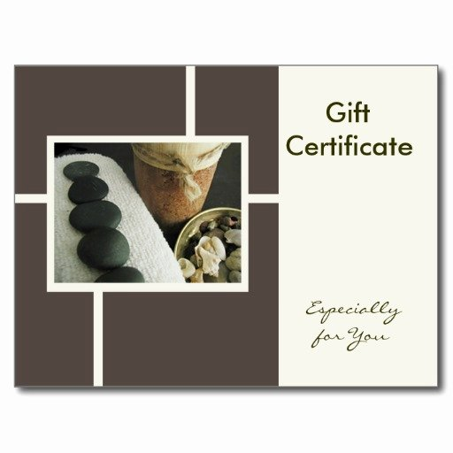 Facial Gift Certificate Template Fresh 29 Of Massage Gift Certificate Template
