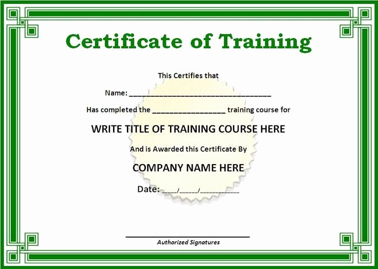 Fake ase Certificate Template New Fake Skills Training Certificates