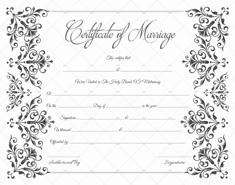Fake Birth Certificate Template Best Of Create A Fake Marriage Certificate How to Guide & Sample
