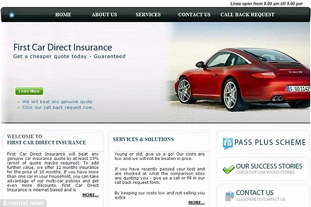 Fake Car Insurance Card Luxury Ghost Brokers Set Up Fake Call Centre and Duped Ers