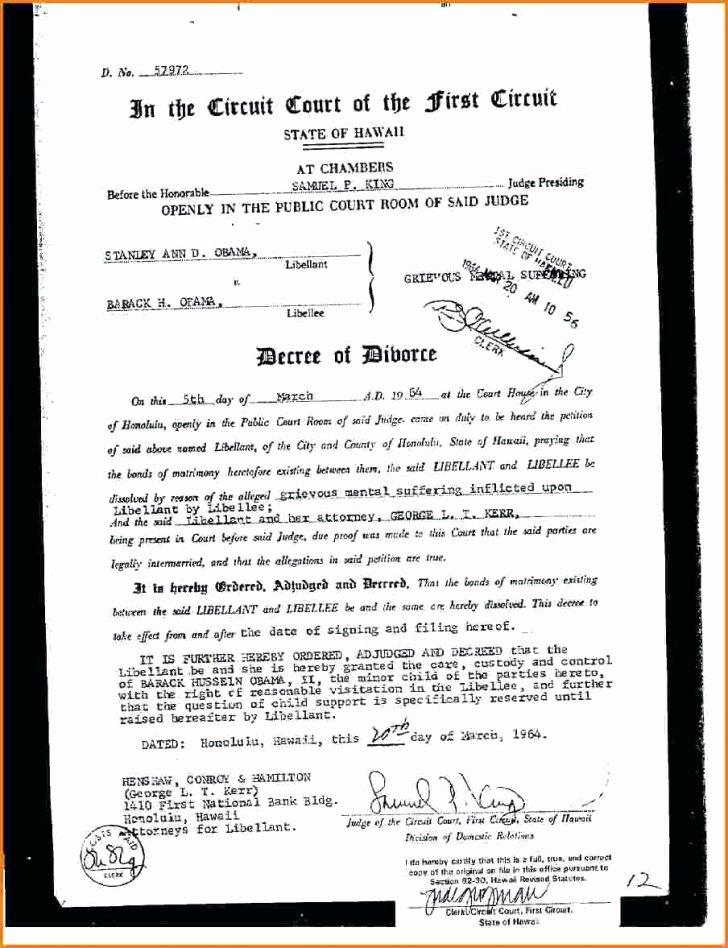 Fake Divorce Certificate Template Luxury Printable Fake Marriage Certificate Template Image