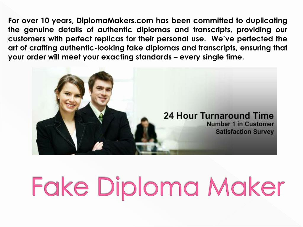 Fake Graduation Photo Maker Beautiful Ppt How to Make A Fake Diploma Powerpoint Presentation