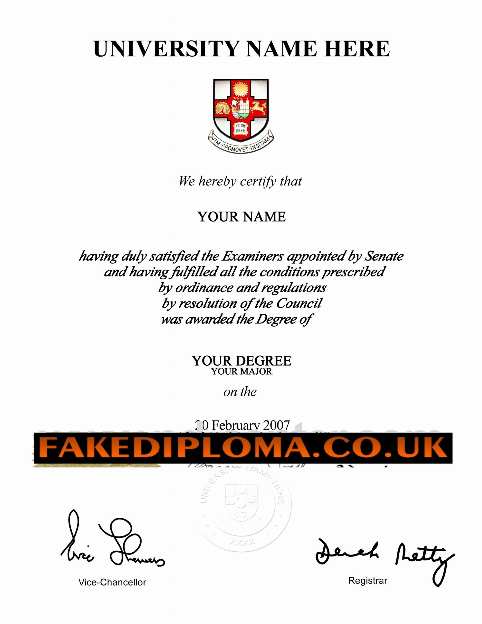 Fake Graduation Photo Maker Fresh Fake Diplomas & Fake Degrees Any Country