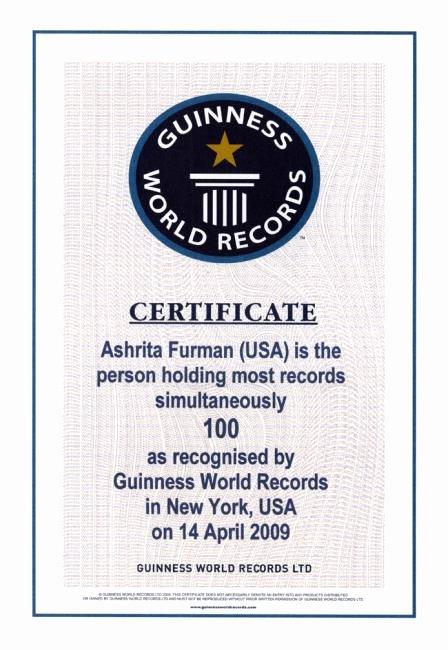 Fake Guinness World Record Certificate Lovely Certificate Of Most Guinness World Records