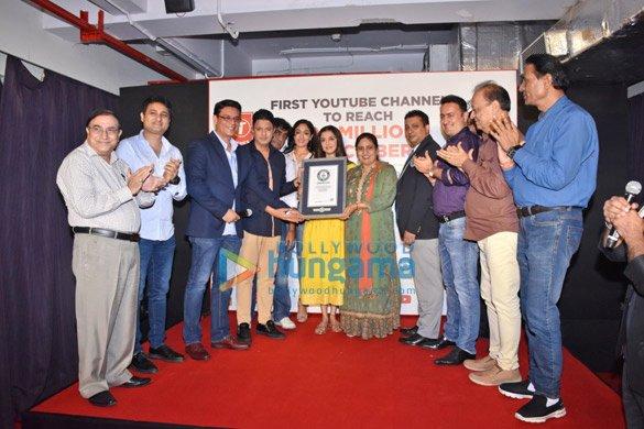 Fake Guinness World Record Certificate Unique S T Series Cmd Bhushan Kumar Divya Khosla Kumar and