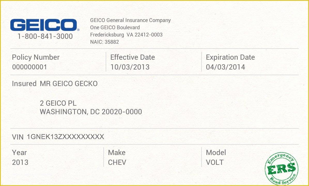 Fake Insurance Card Template Elegant Free Fake Auto Insurance Card Template Car Safety
