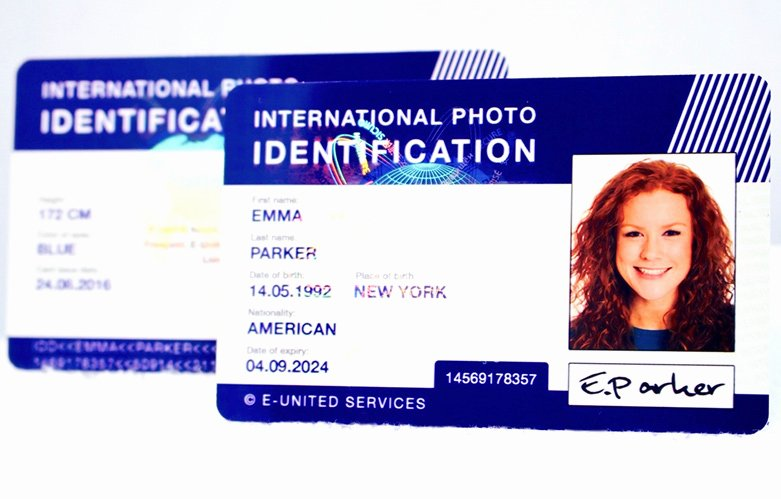 Fake Medical Record Generator Lovely Id Generator Fake Card Fake Id Scannable