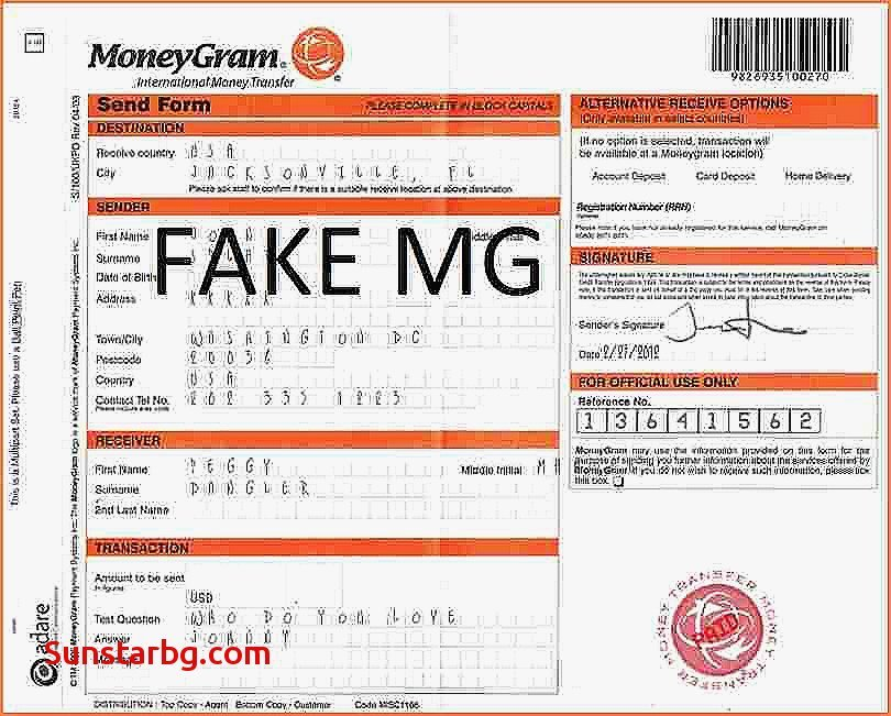 Fake Money Gram Numbers Fresh Moneygram Receipt Number 11