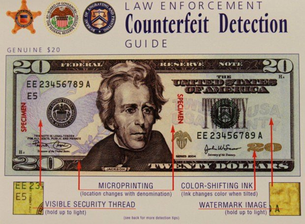 Fake Moneygram Confirmation Number Inspirational How to Detect A Counterfeit $20 Bill