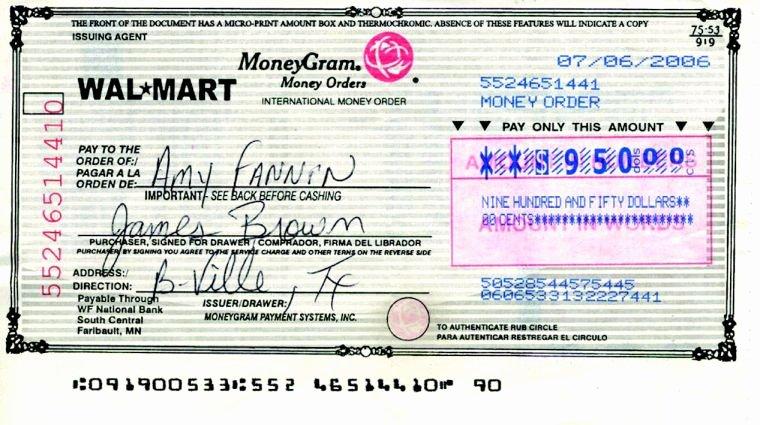 Fake Moneygram Receipt Fresh Fake Money orders End Up In Morehead