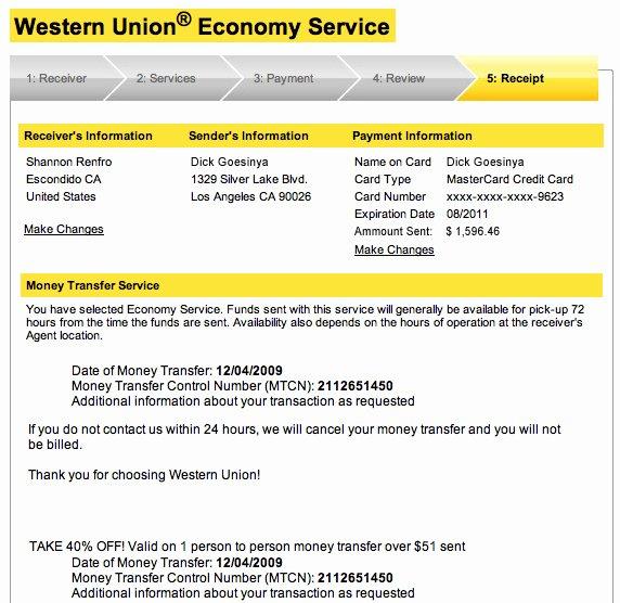 Fake Moneygram Receipt Generator Beautiful Western Union Mtcn Number Generator why is Western Union