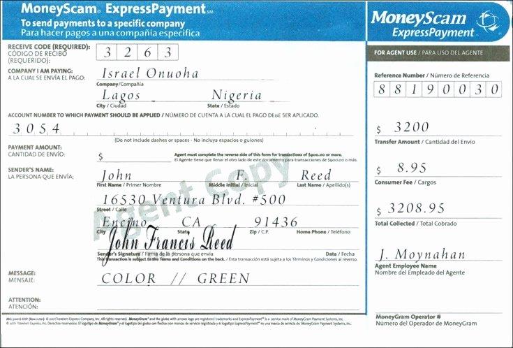 Fake Moneygram Receipt Generator Inspirational 30 Fake Moneygram Receipt