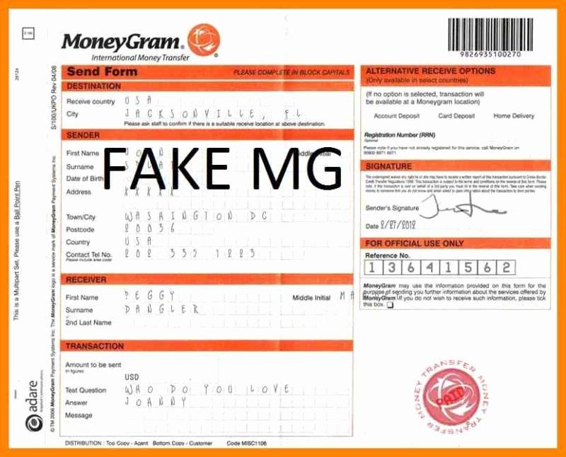 Fake Moneygram Receipt Generator Unique Fake Moneygram Receipt Generator Ourclipart