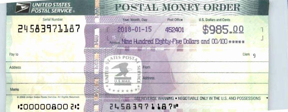 Fake Moneygram Receipt Inspirational Terrebonne Parish Sheriff Warns Of Postal Money order Scam