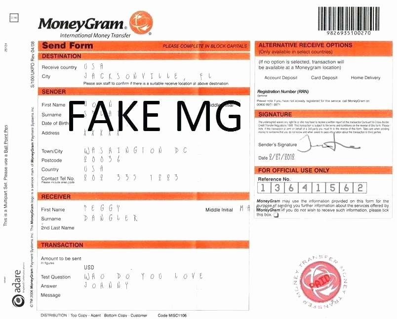 Fake Moneygram Receipt Lovely 30 Fake Moneygram Receipt