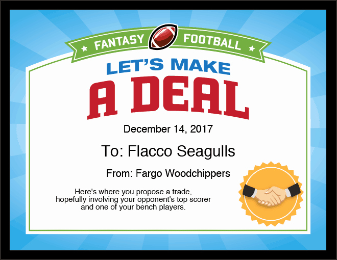 have more fun in your fantasy football league