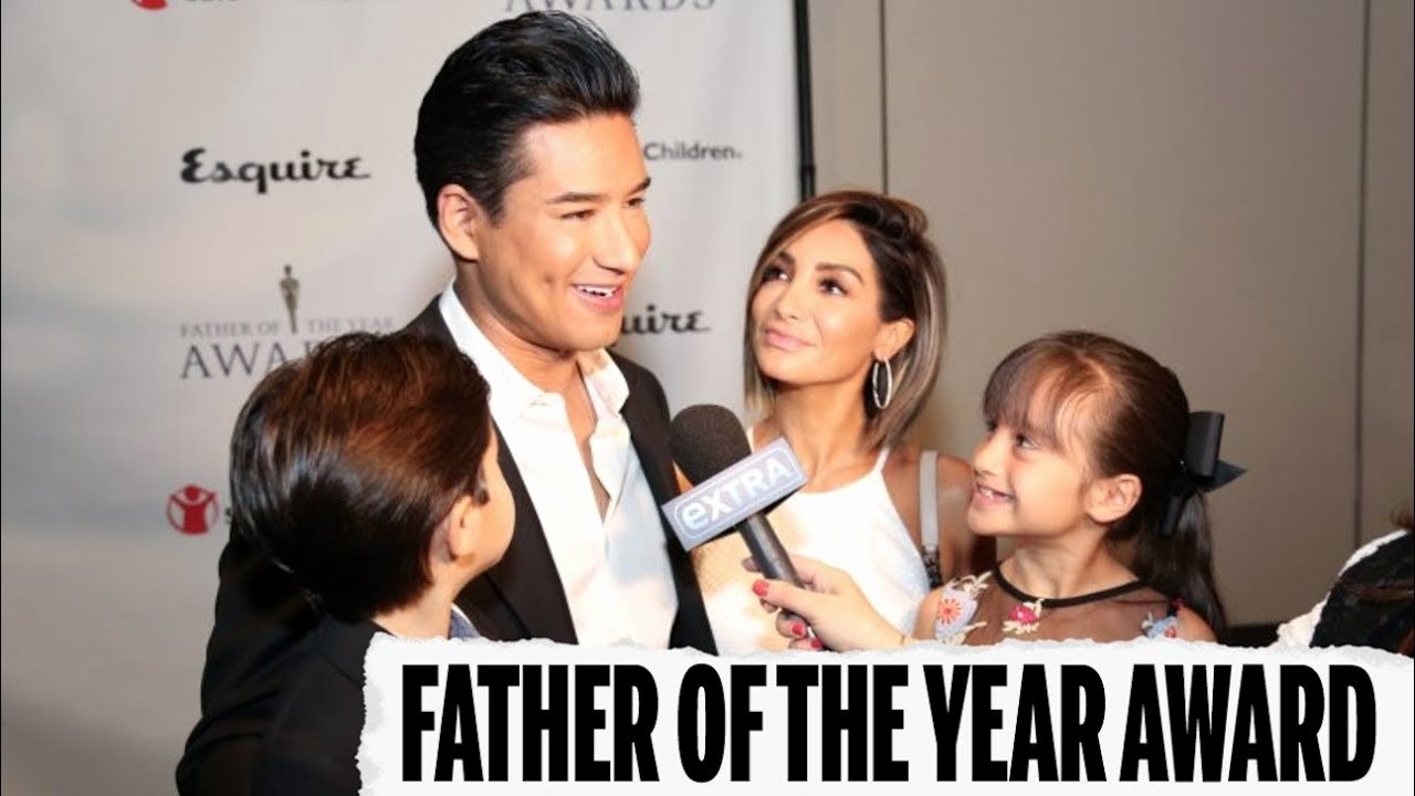 Father Of the Year Certificate Elegant Mario Accepts Father Of the Year Award