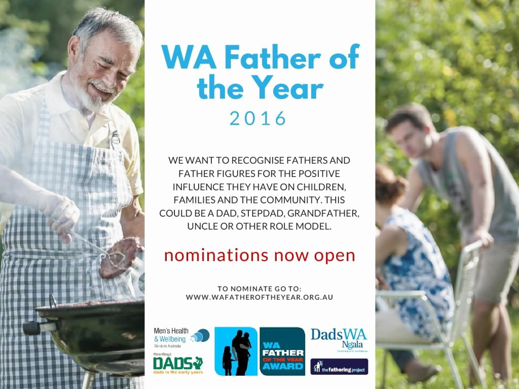 Father Of the Year Certificate Elegant Wa Father Of the Year 2016 Award