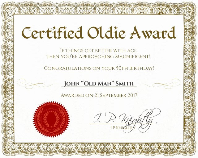 Father Of the Year Certificates Lovely Certificate Template